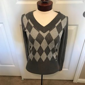 Guess argyle sweater